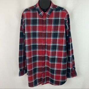 Foundry 2XLT Cotton Flannel Button Down Shirt